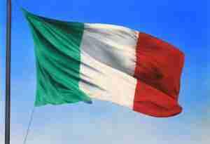 Bandiera dell'Italia