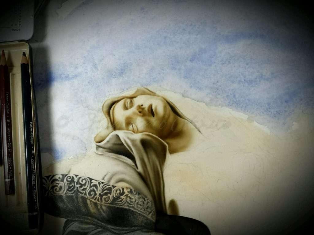 Estasi della Beata Ludovica Albertoni-Giampiero Abate