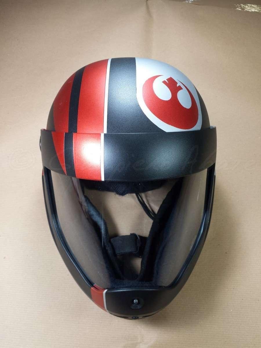 Aerografia Casco Star Wars Rogue Squadron - Giampiero Abate (2)