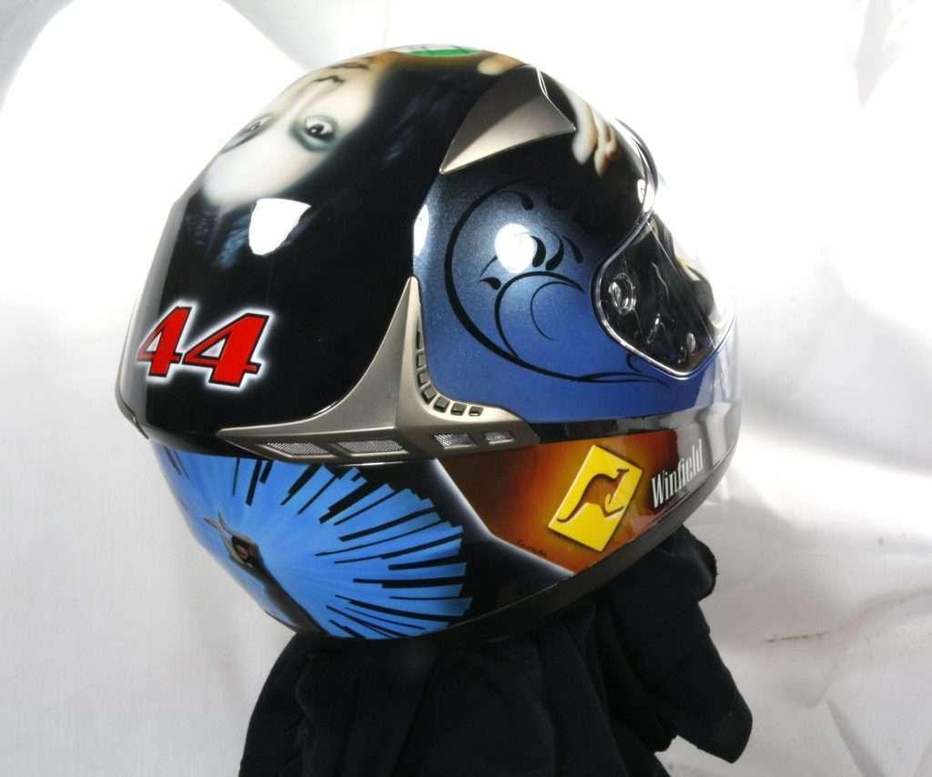 Anggun Tribute Helmet - Giampiero Abate (5)
