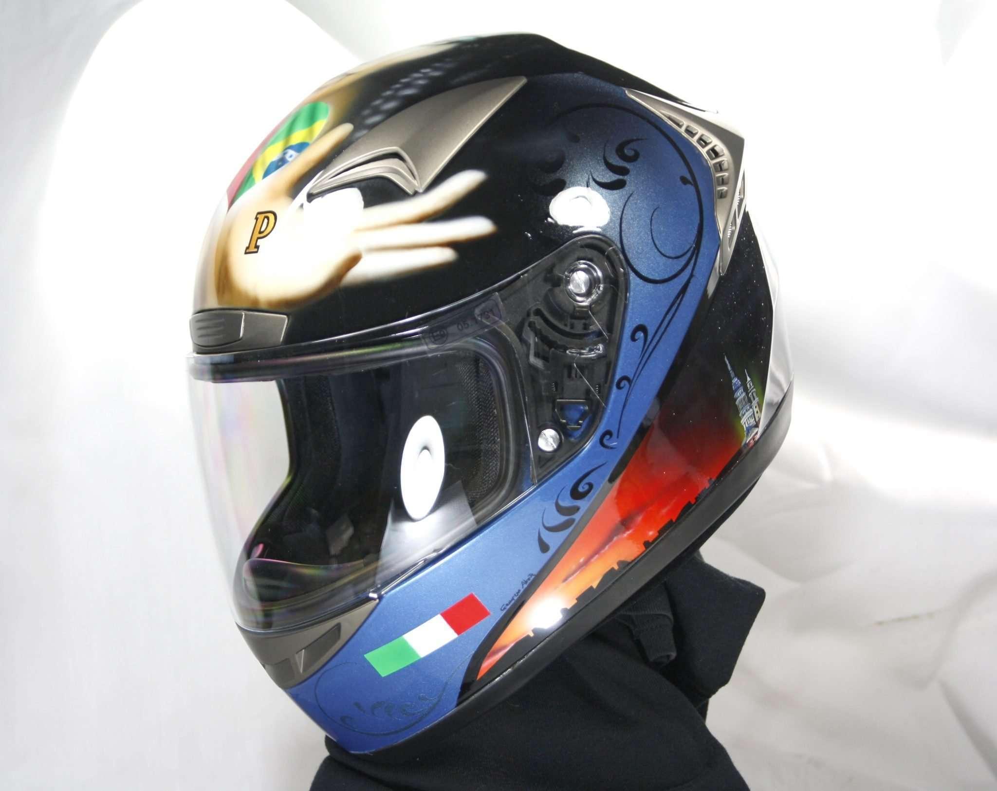 Anggun Tribute Helmet - Giampiero Abate (7)