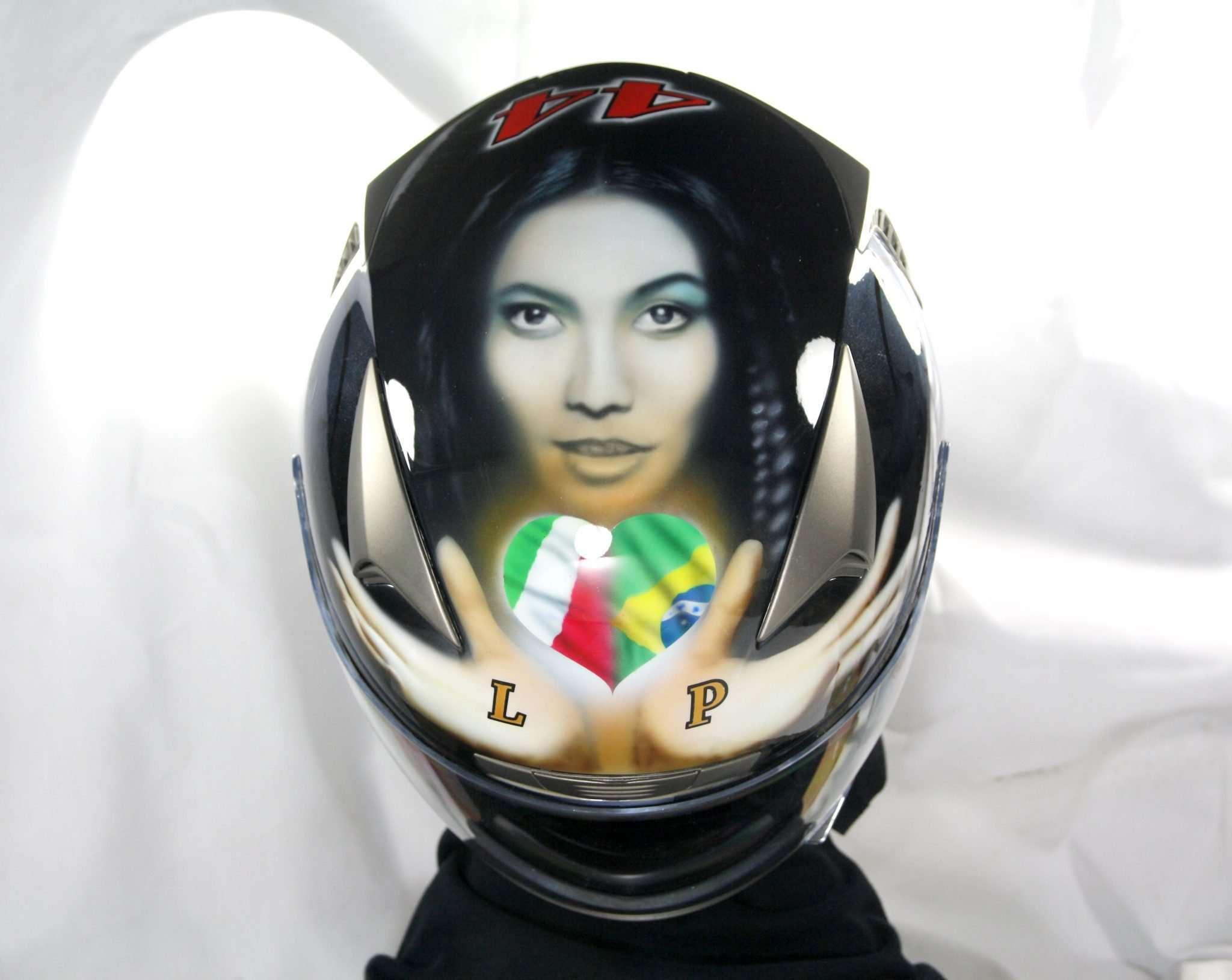 Anggun Tribute Helmet - Giampiero Abate (8)