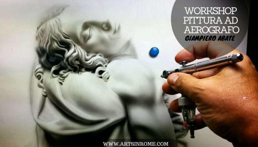 Workshop di Aerografia Roma Giampiero Abate