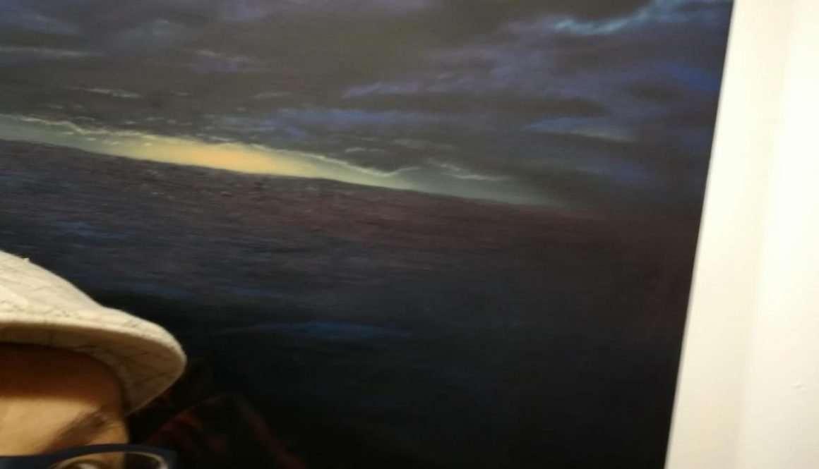 Orizzonte minaccioso sul mare di Caronte - Giampiero Abate