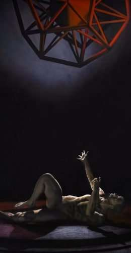 Dodecaedro - Acrilico su tela 100x150 cm - Giampiero Abate
