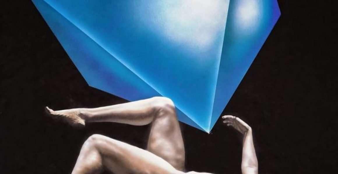 Ottaedro - Acrilico su tela - 150 x 100 cm - Giampiero Abate