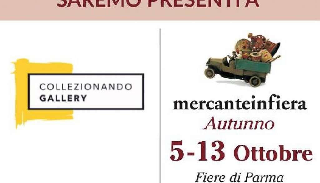 Mercanteinfiera Parma autunno 2019