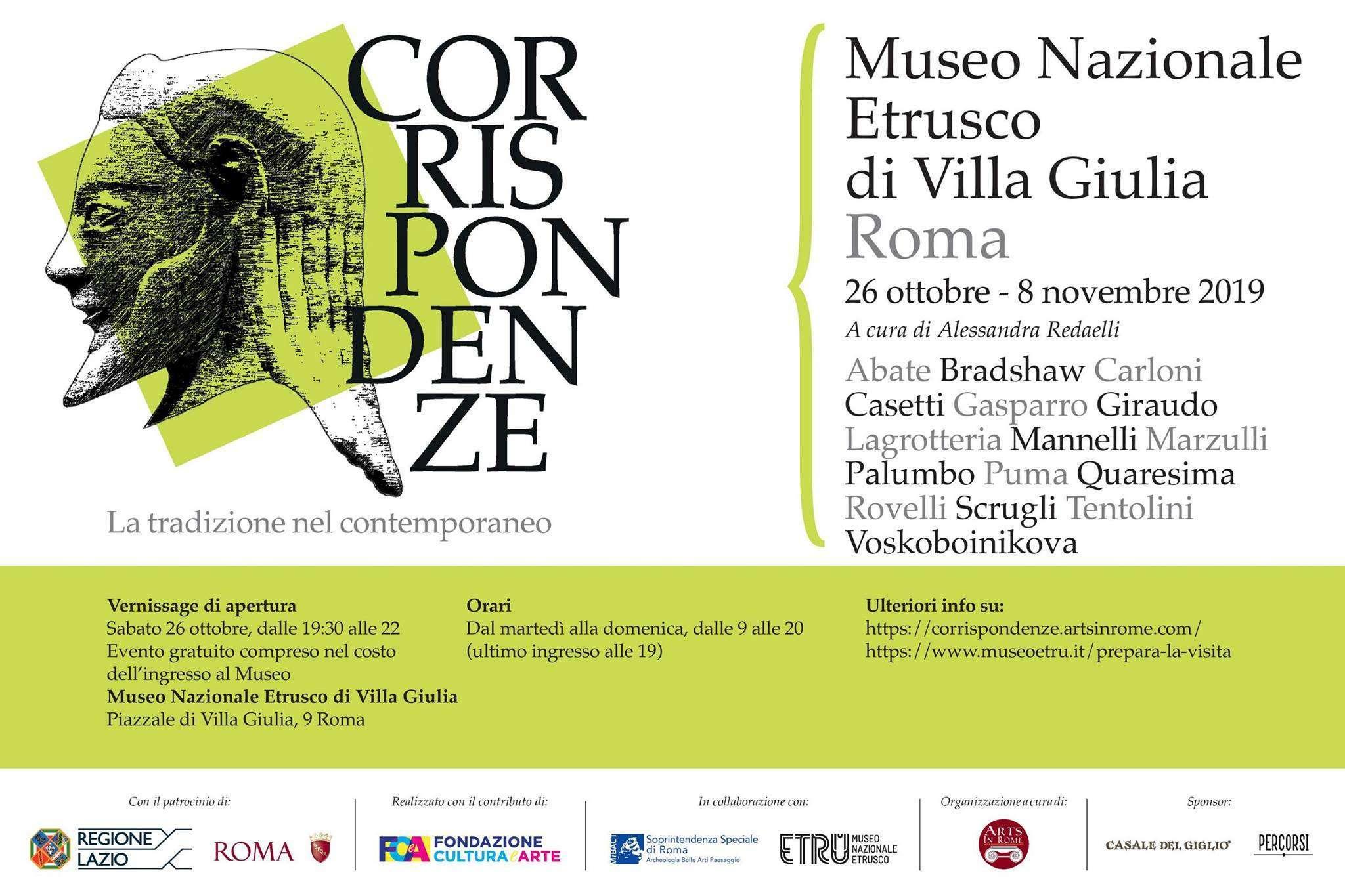 Corrispondenze - la Tradizione nel Contemporaneo - Arts in Rome