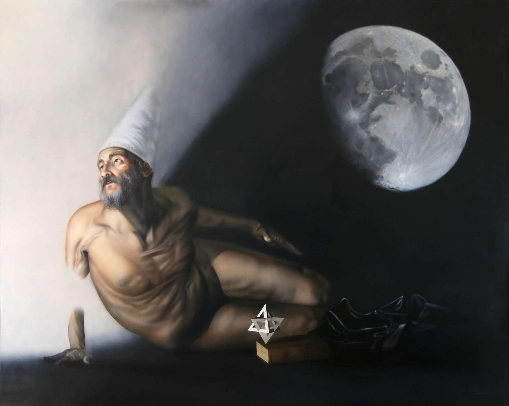 E Pur Si Muove - Acrilico su tela - 150x120 cm - 2020 - Giampiero Abate