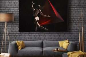 Tetraedro - Hall Frame -Giampiero Abate