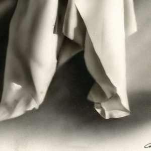 Drappeggio Bianco e Nero - Giampiero Abate